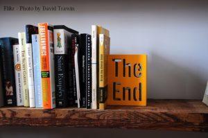 bookshelf the end